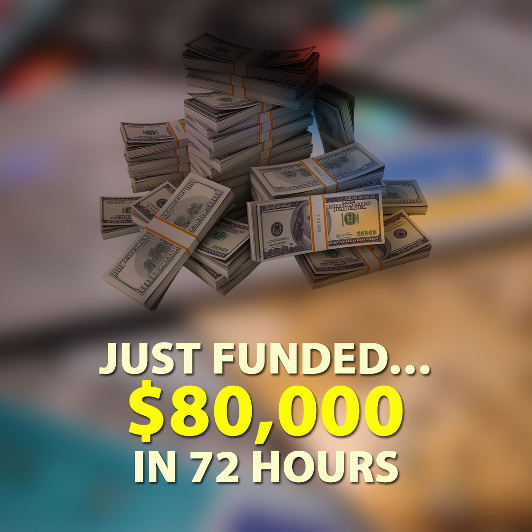 Just Funded $80000 in 72 Hours 1080X1080